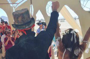 Burning Man Wedding 2015