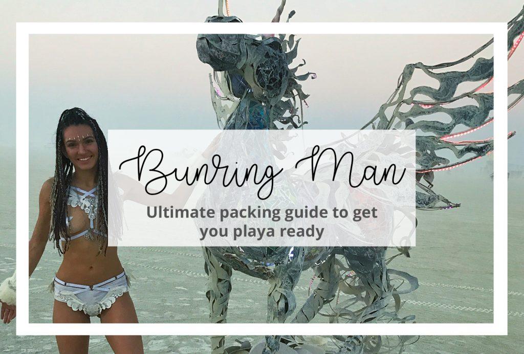 Burning Man Packing Guide