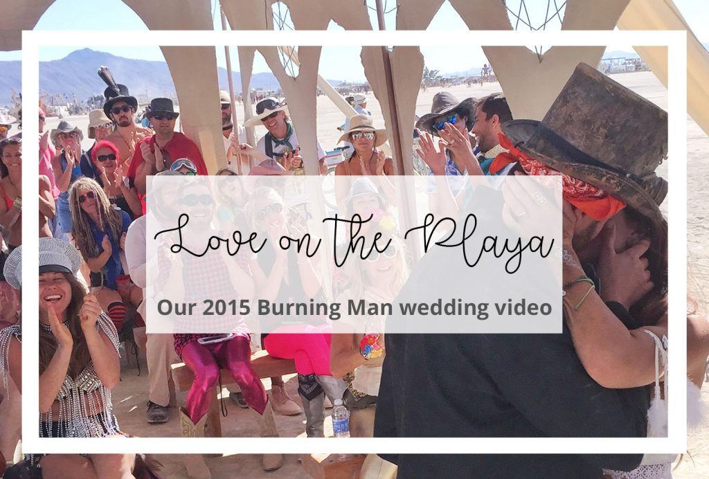 Love on the playa burning man