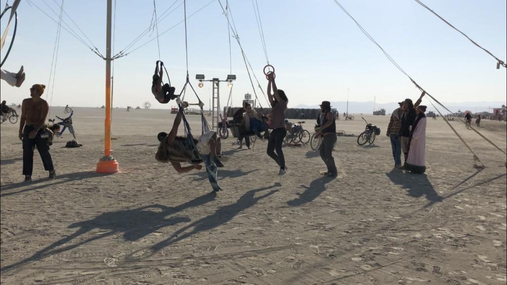Playground Fun at Burning Man 2018