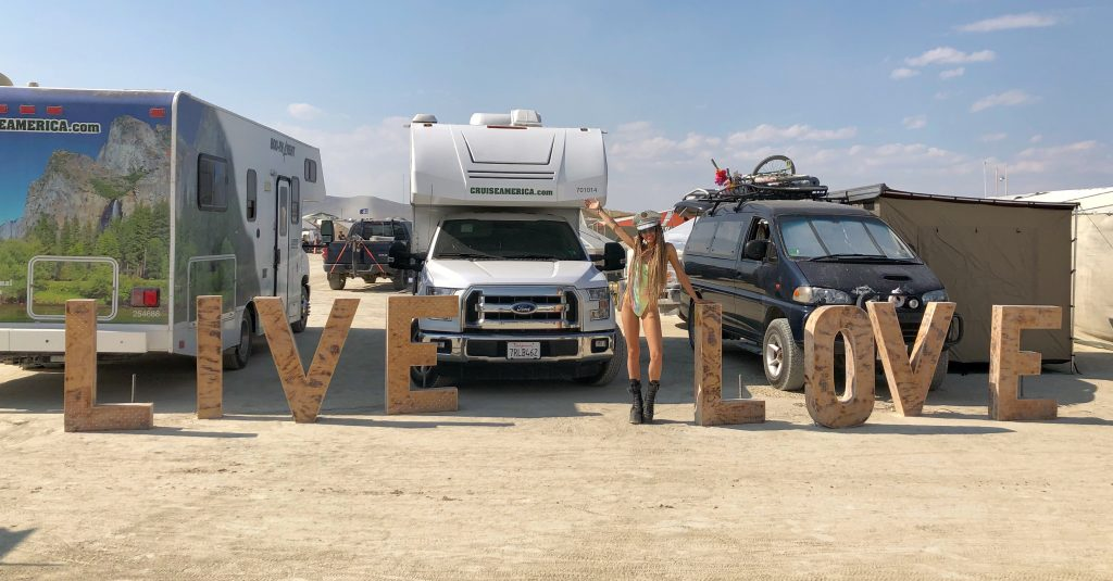 Live Love Camp Anita Burning Man 2018