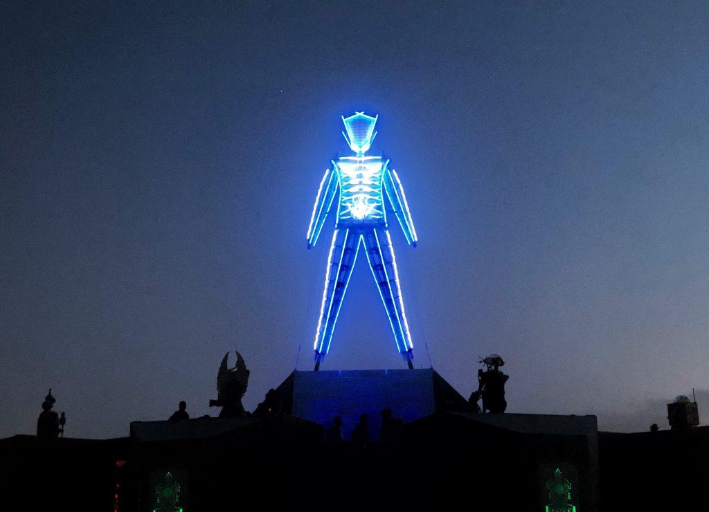 The Man at Burning Man 2018