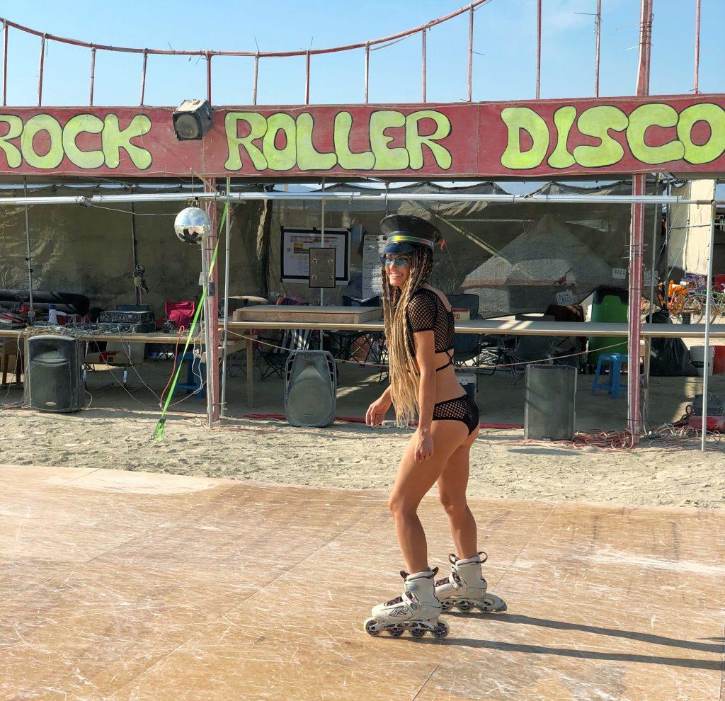 Roller Disco at Burning Man 2018