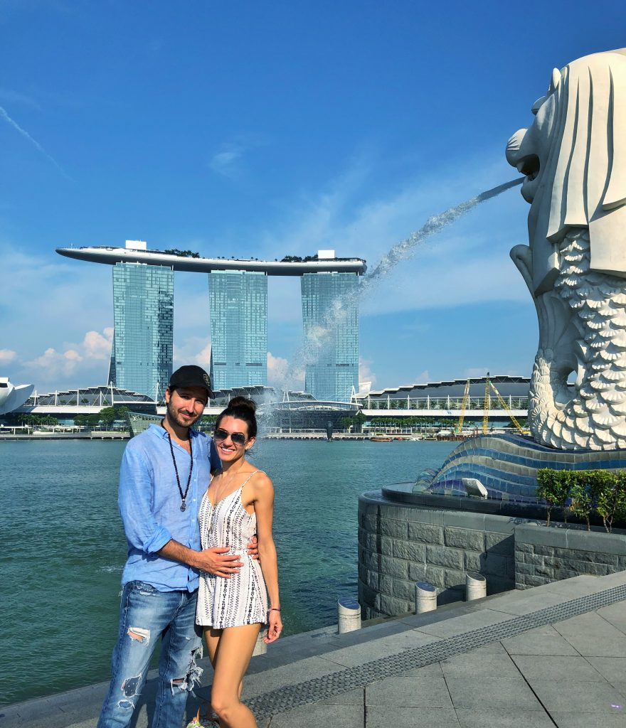 Singapore Merlion Marina Bay Sands