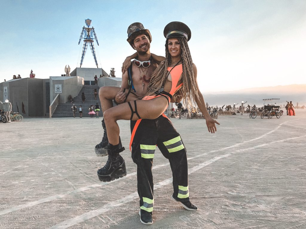 Burning Man 2018 Event Couple Costume