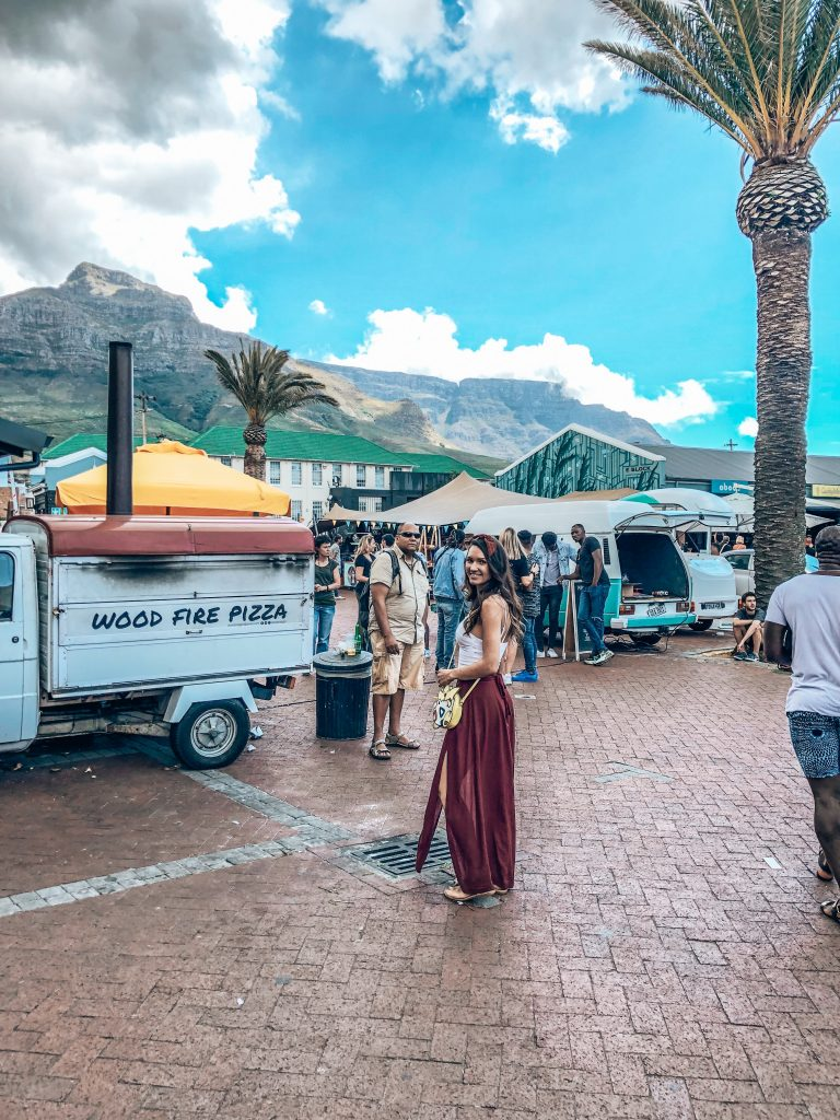 Hanging at The Old Biscuit Mill Markets in Cape Town
