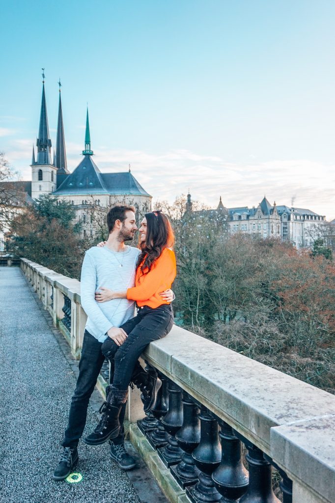 Luxembourg City Couple