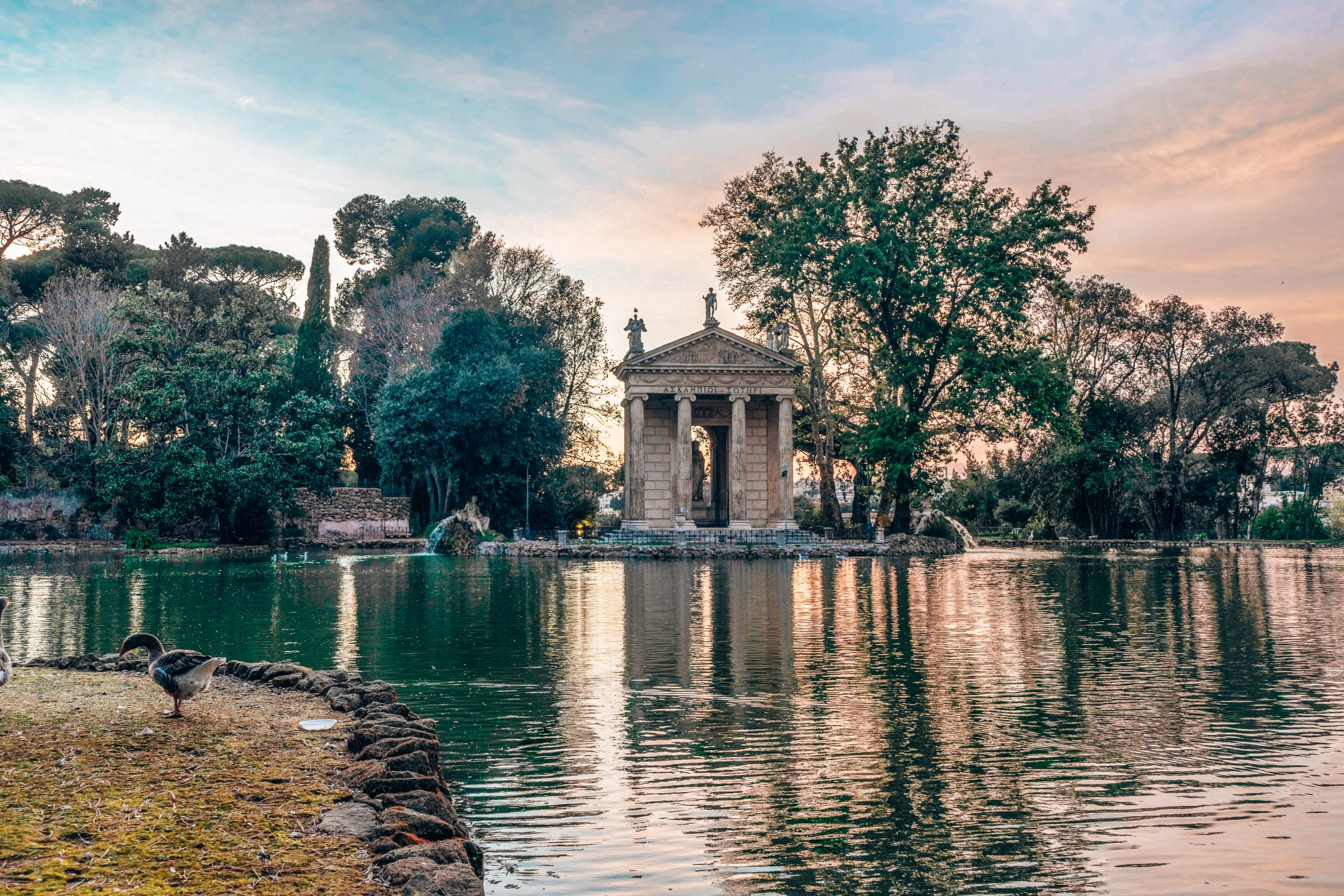 Temple of Asclepius Rome