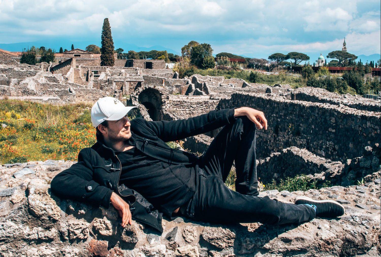 Josh Pompeii italy
