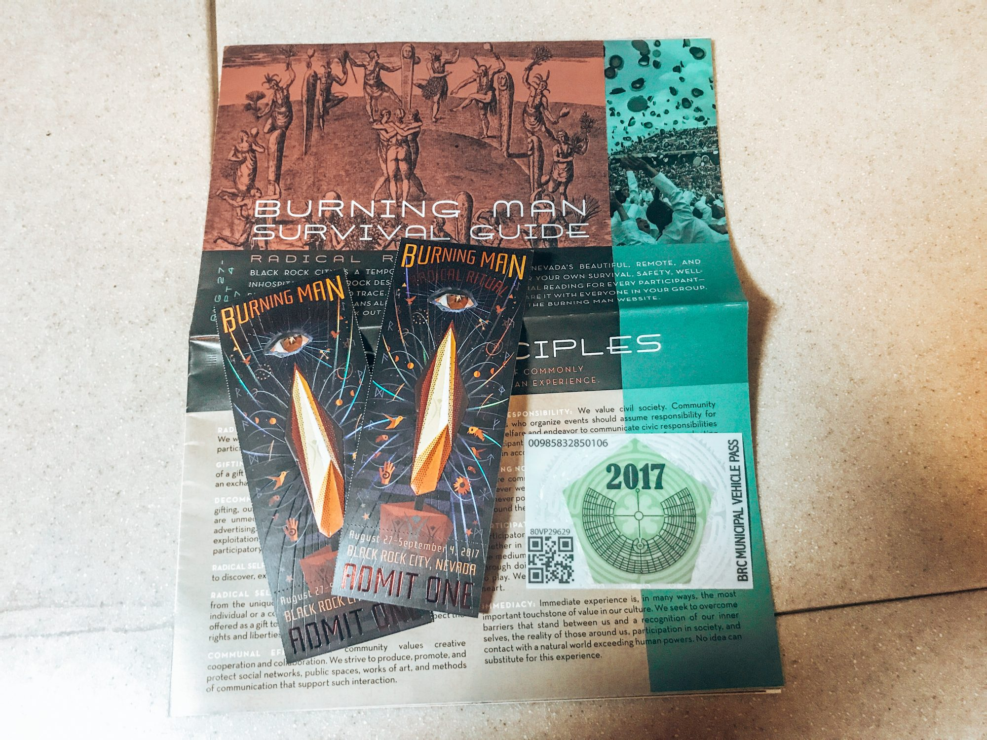 Burning Man 2017 Tickets
