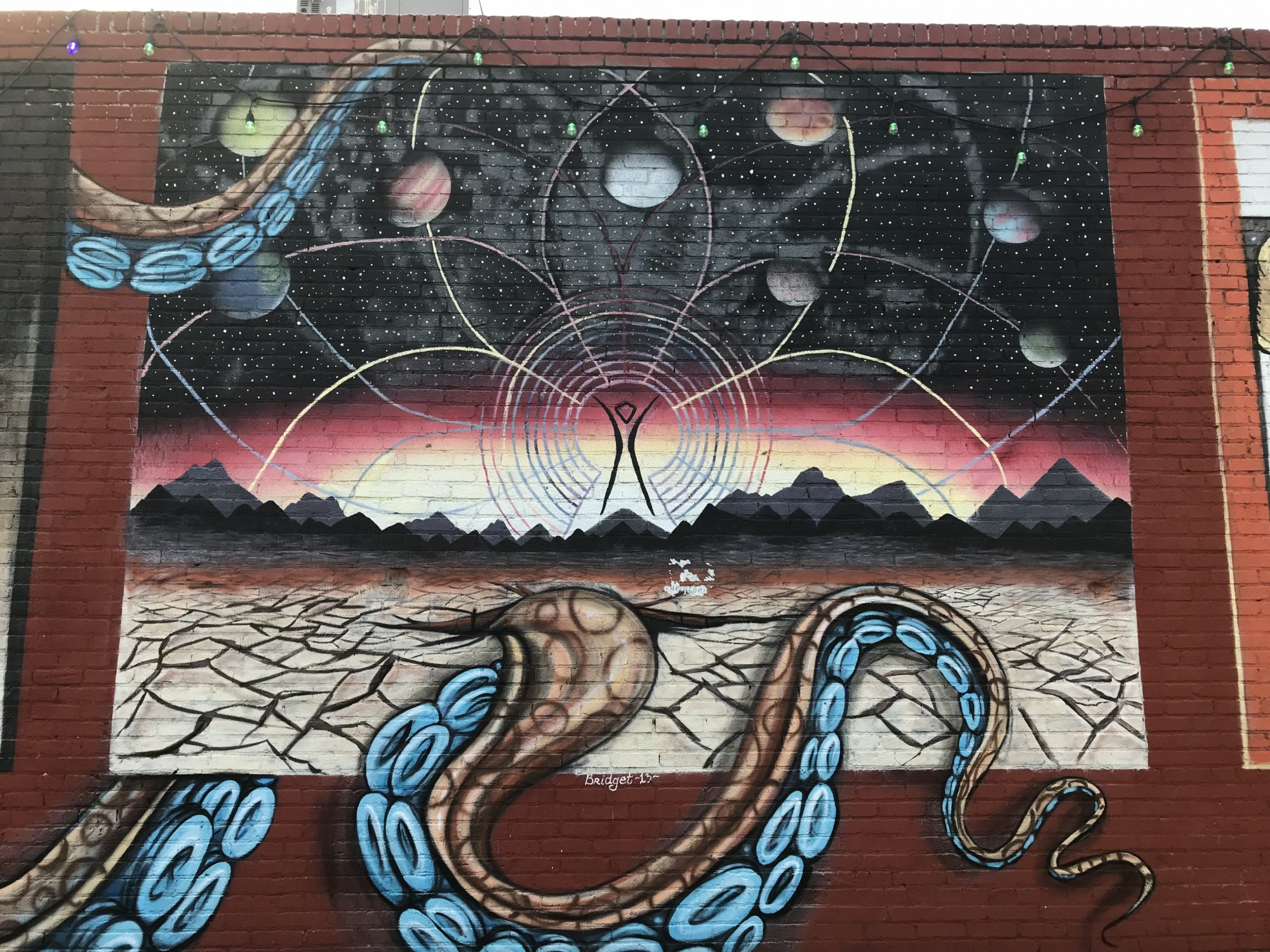Burning Man Mural