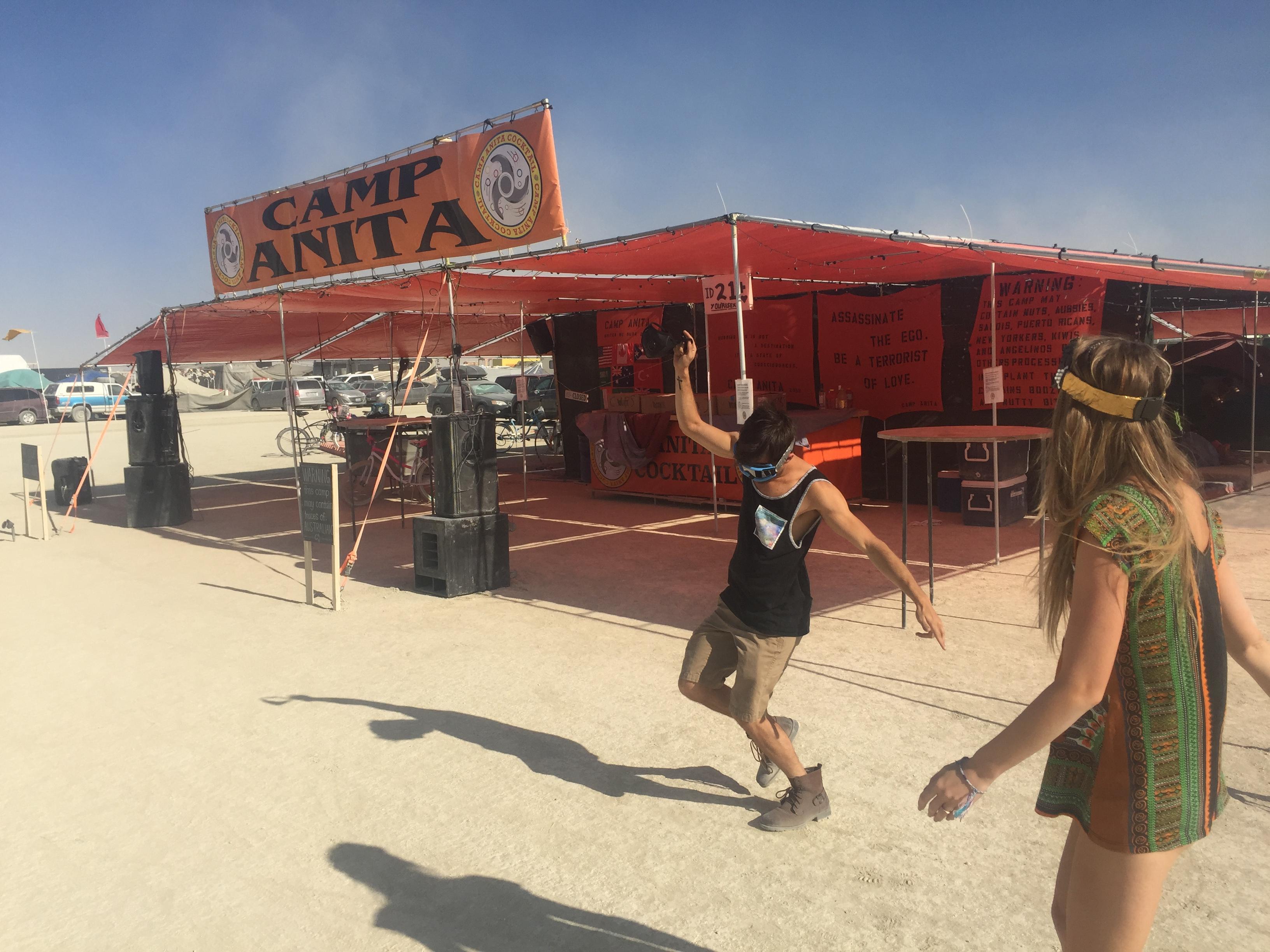 Camp Anita Burning Man