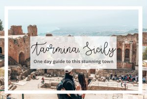 Taormina Sicily Italy one day guide