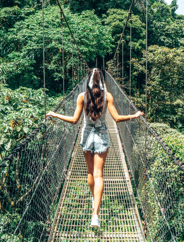 Hanging Bridges La Fortuna Costa Rica